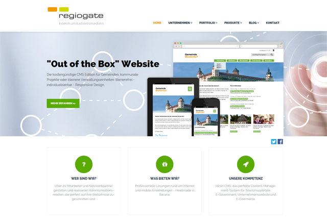 Titelbild zu Moderner, übersichtlicher und informativer denn je: die neue regiogate Website