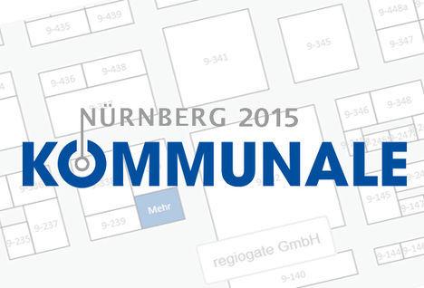 Titelbild zu 14.10.2015 - 15.10.2015: Kommunale 2015 Nürnberg. <br><br>Wir sind dabei!