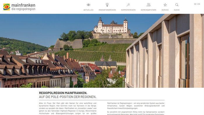 Titelbild zu Relaunch Regiopolregion Mainfranken