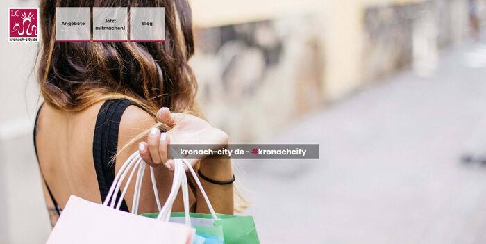 Titelbild zu Neues Kronacher City-Portal geht online