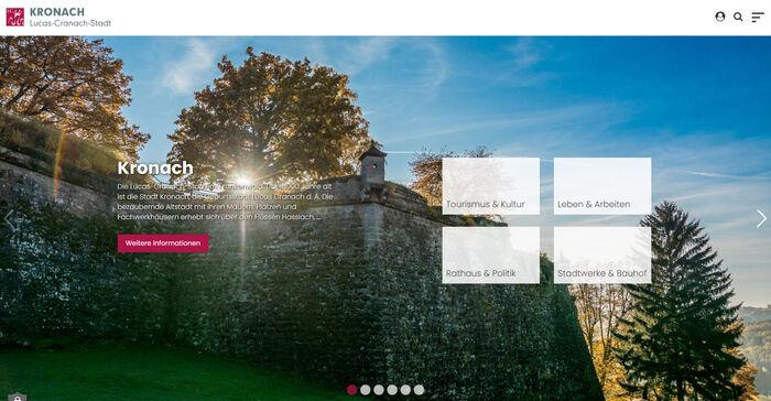 Titelbild zu Relaunch Stadt Kronach