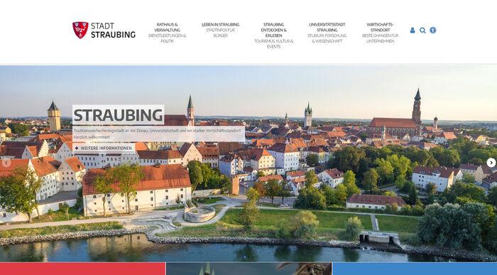 Titelbild zu Relaunch Stadt Straubing
